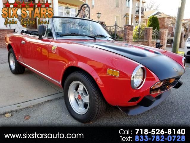 Fiat Spider 2000 Base 1979