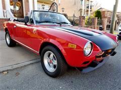 1979 Fiat Spider 2000