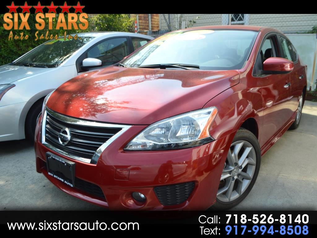 used 2013 nissan sentra sv for sale in richmond hill ny 11419 six star auto sales inc. Black Bedroom Furniture Sets. Home Design Ideas