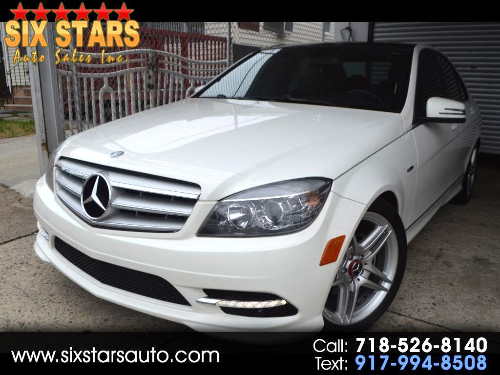 Mercedes-Benz C-Class C300 4MATIC Luxury Sedan 2011