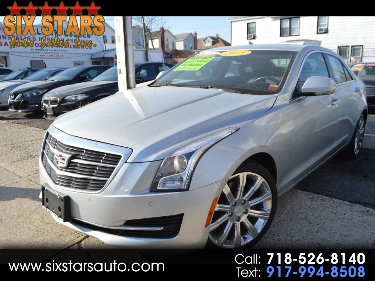 Cadillac ATS 2.0L Turbo Luxury AWD 2015