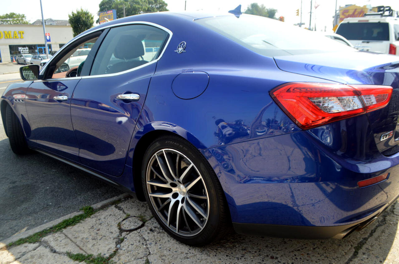 Used 2015 Maserati Ghibli Base for Sale in Richmond Hill NY 11419 Six Star Auto Sales Inc