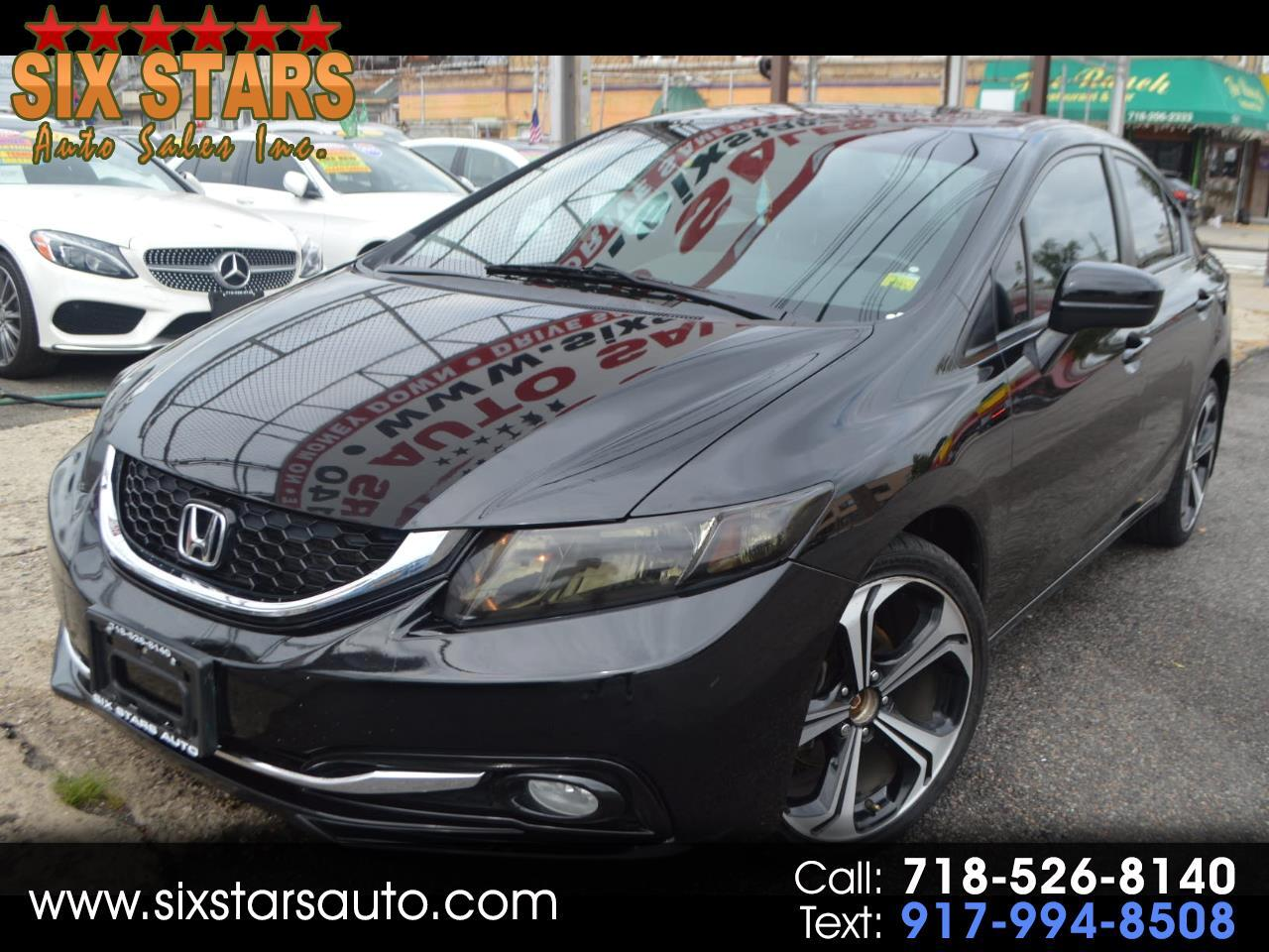 Honda Civic EX-L Sedan CVT 2015