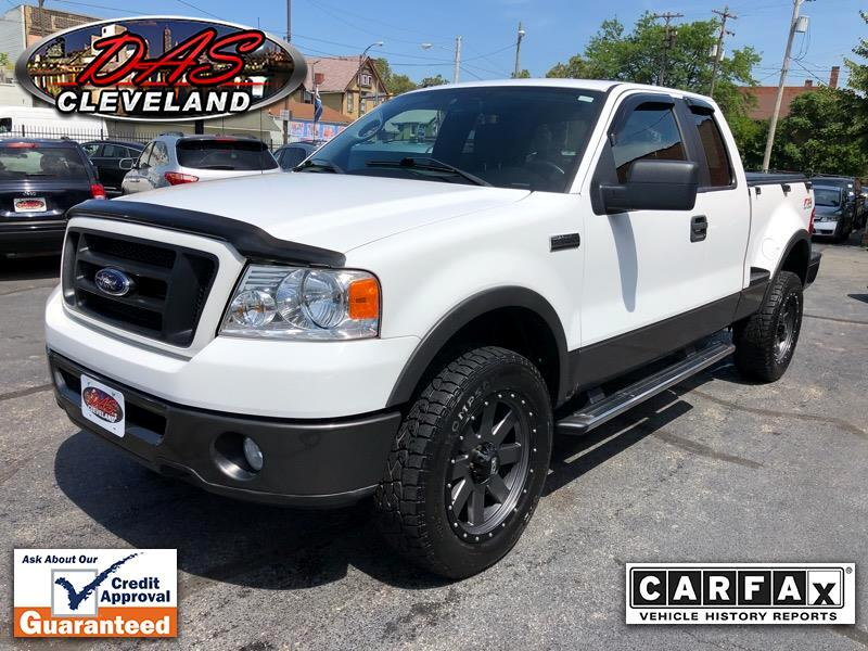 2008 Ford F-150 Supercab Flareside 145