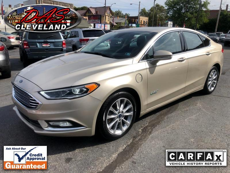 2017 Ford Fusion Energi 4dr Sdn SE Luxury