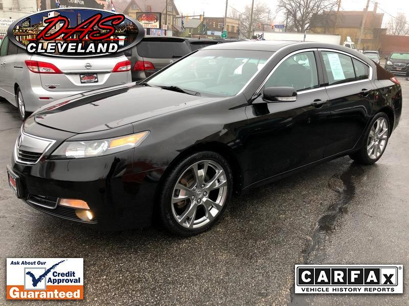 Acura TL 6-Spd AT SH-AWD w/ Advance Pkg 2012