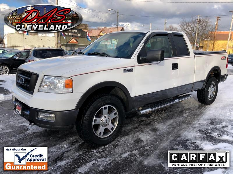 """Ford F-150 4WD SuperCab 145"""" FX4 2005"""