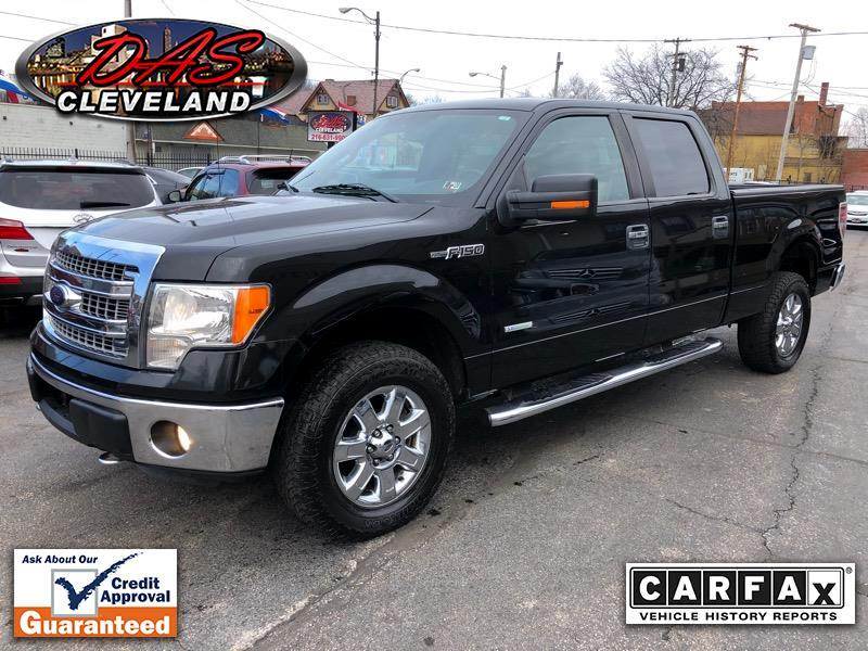Ford F-150 XLT SuperCrew 6.5-ft Box 4WD 2013