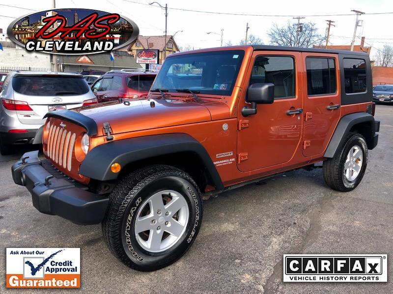 Jeep Wrangler Unlimited Sport 4WD 2010