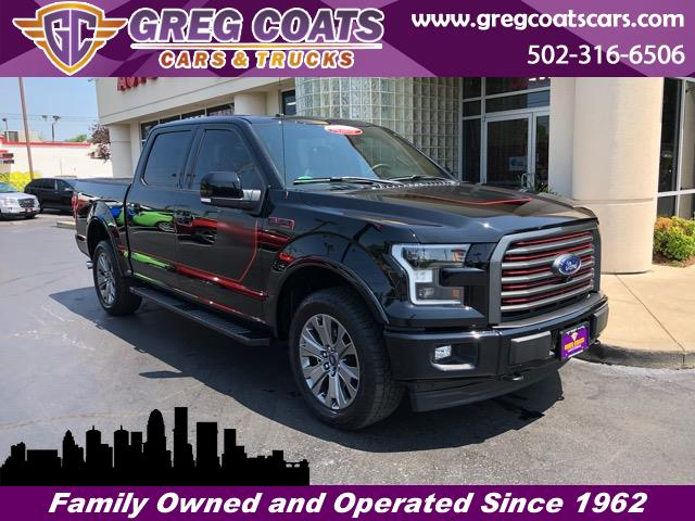 2017 Ford F-150 LARIAT SUPERCREW SPORT FX4