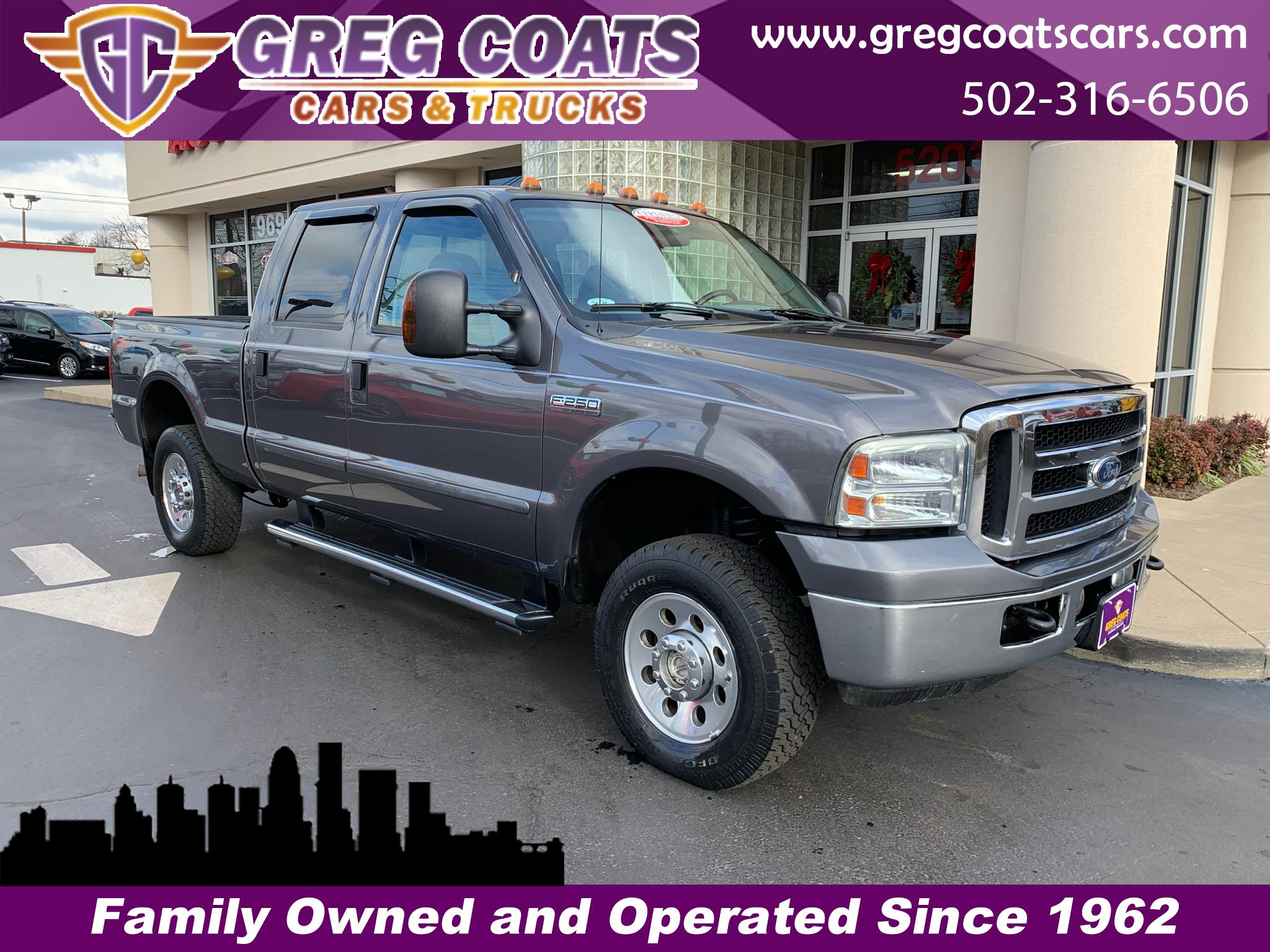 2007 Ford Super Duty F-250 XLT 4x4 FX4