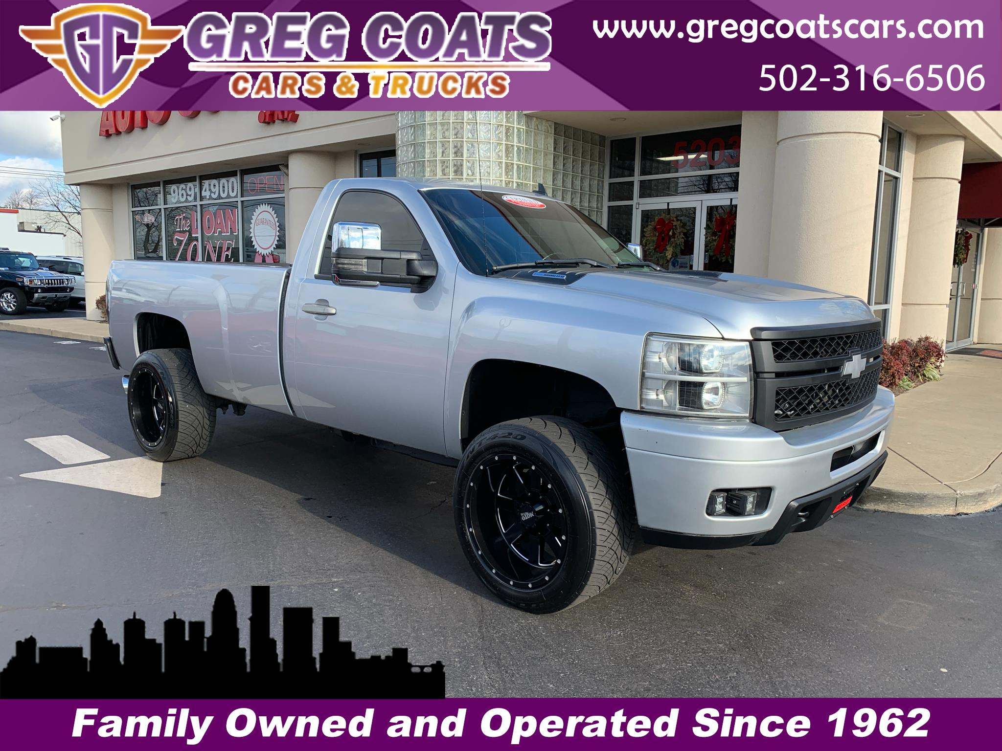 2014 Chevrolet Silverado 3500HD LT LONG BED 4X4