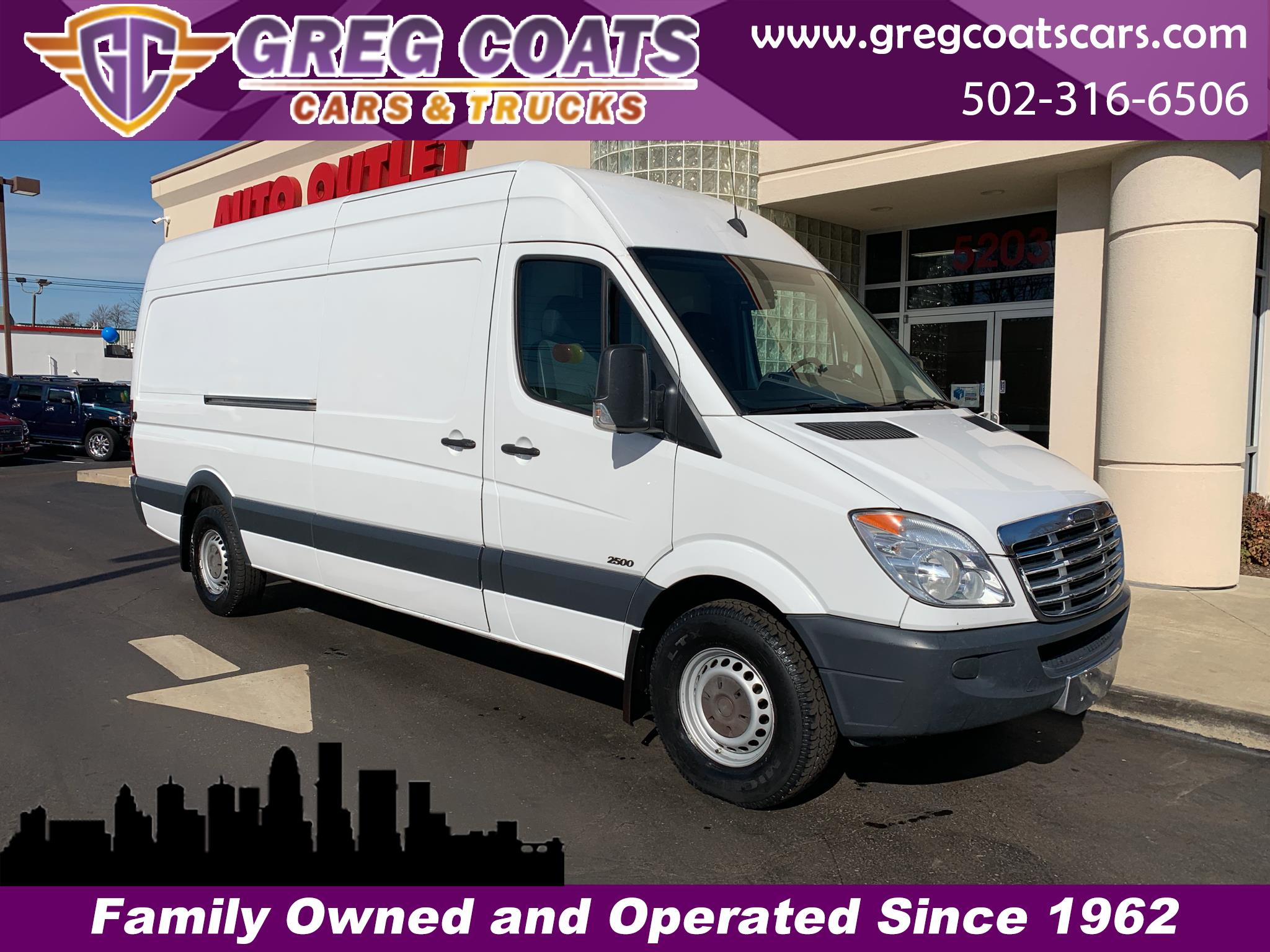 2013 Freightliner Sprinter 2500 High roof 170-in. WB
