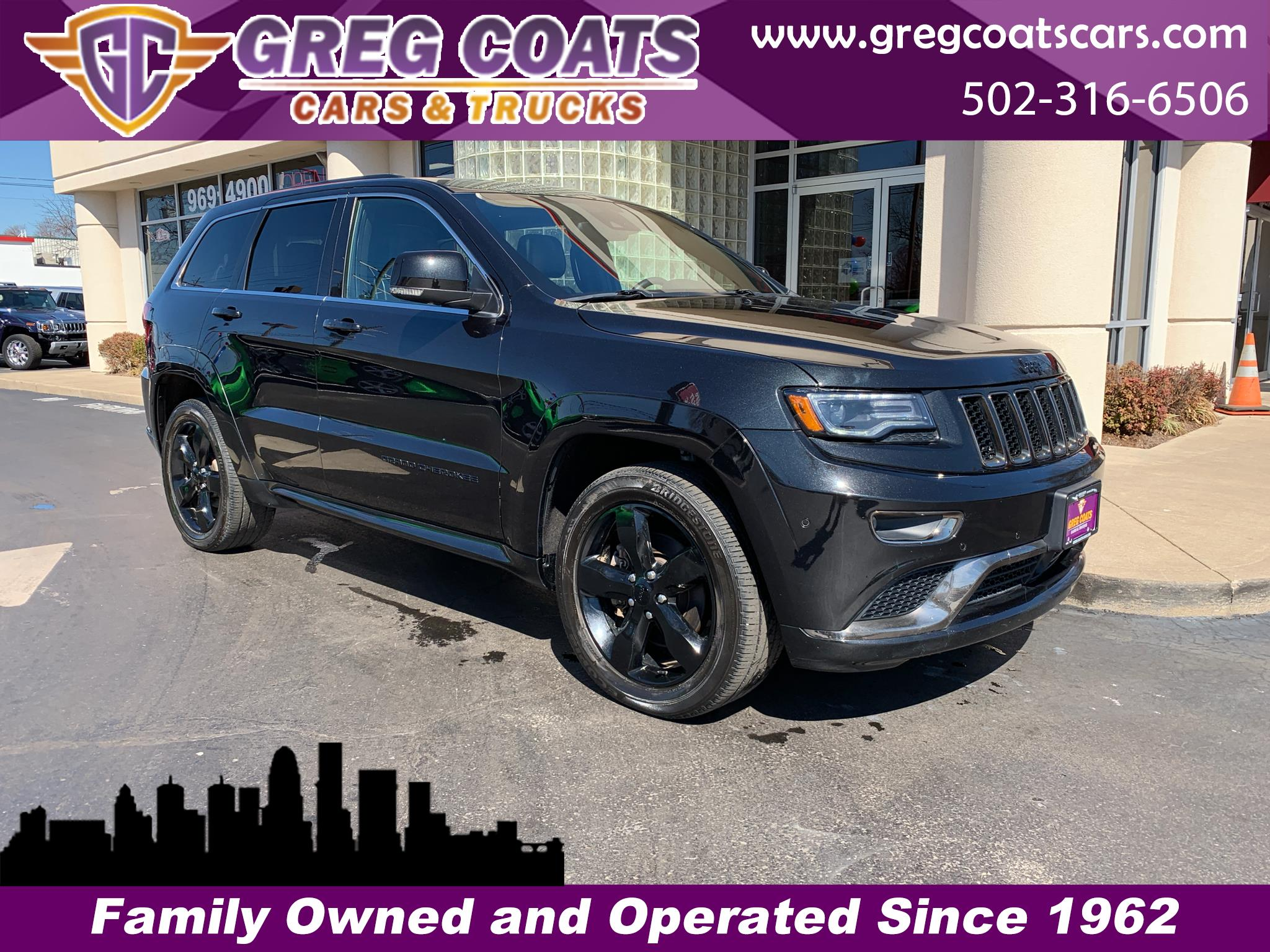 2016 Jeep Grand Cherokee High Altitude 4x4