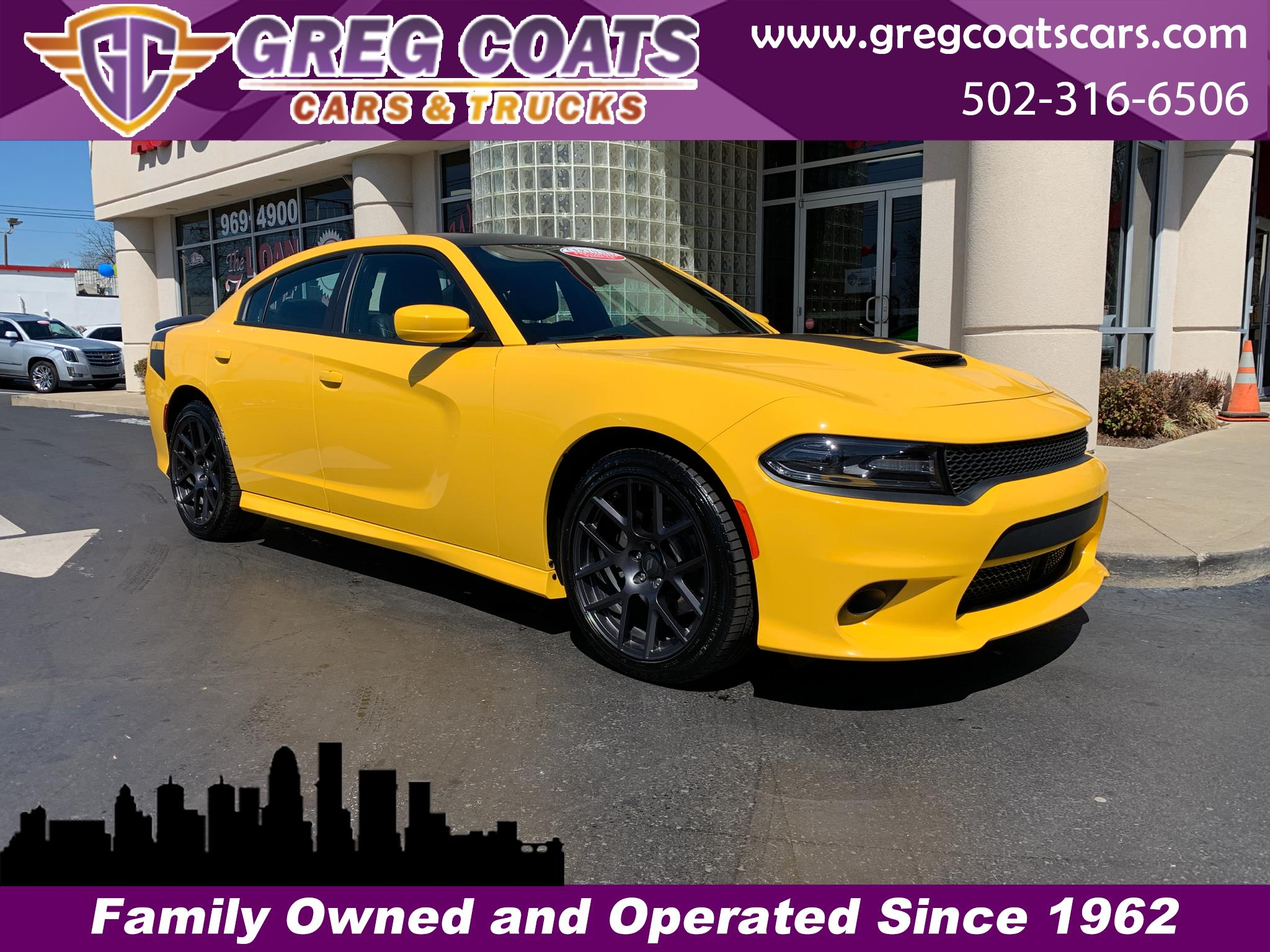 2018 Dodge Charger DAYTONA YELLOW JACKET