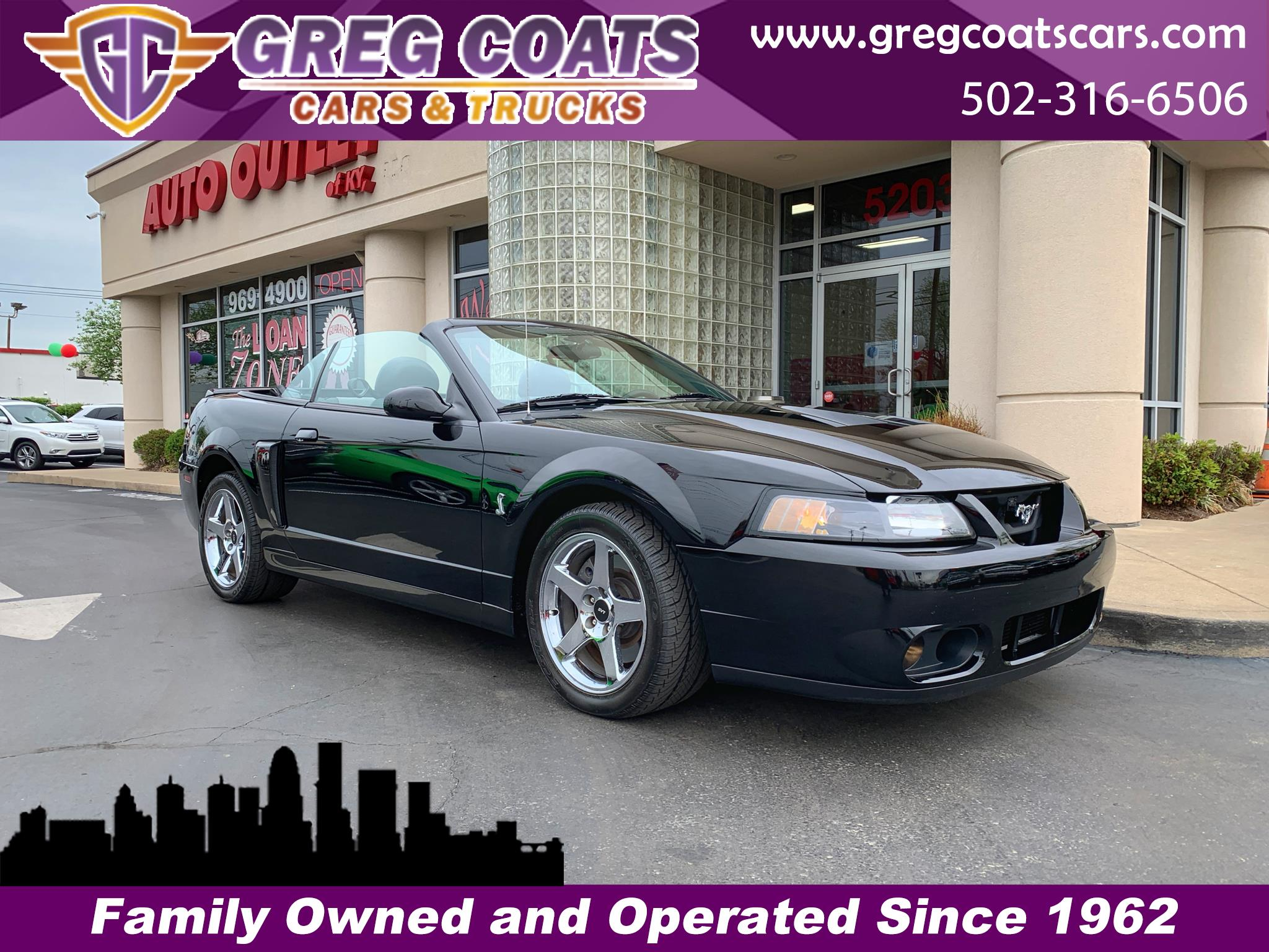 Ford Mustang SVT Cobra Convertible 2004