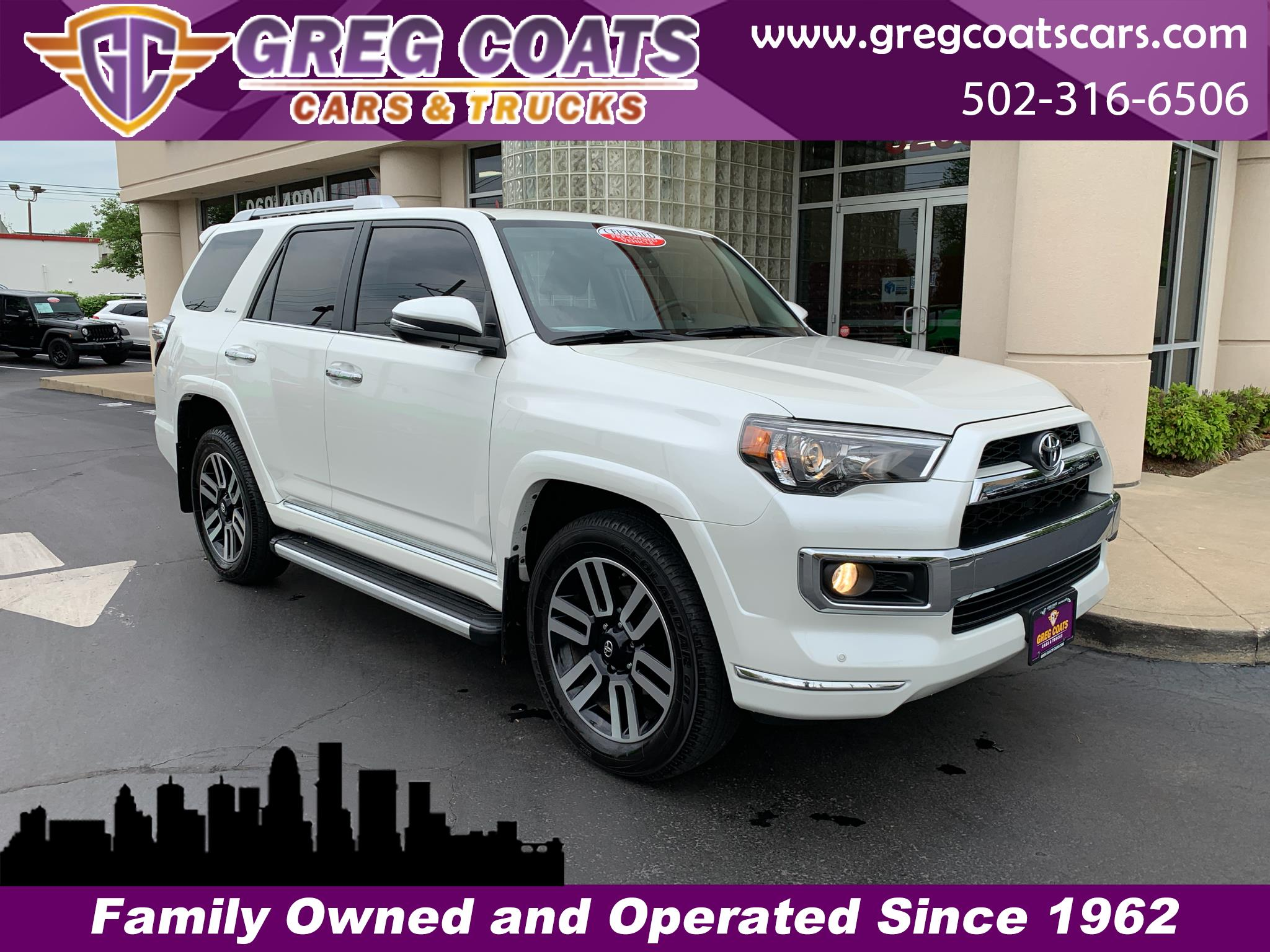 2018 Toyota 4Runner Limited 4WD