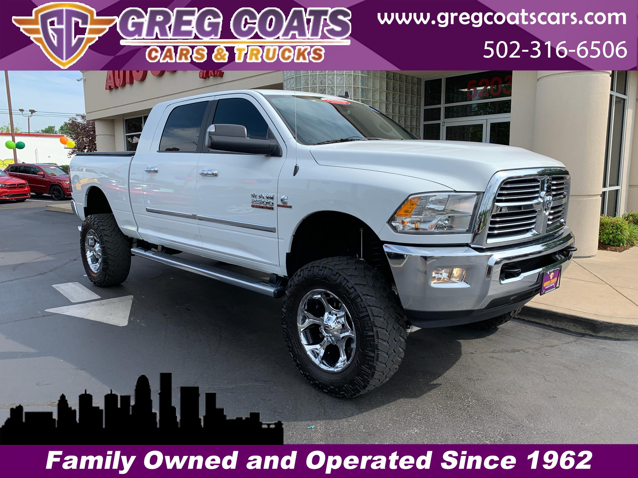 "2014 RAM 2500 Big Horn 4x4 Mega Cab 6'4"" Box"