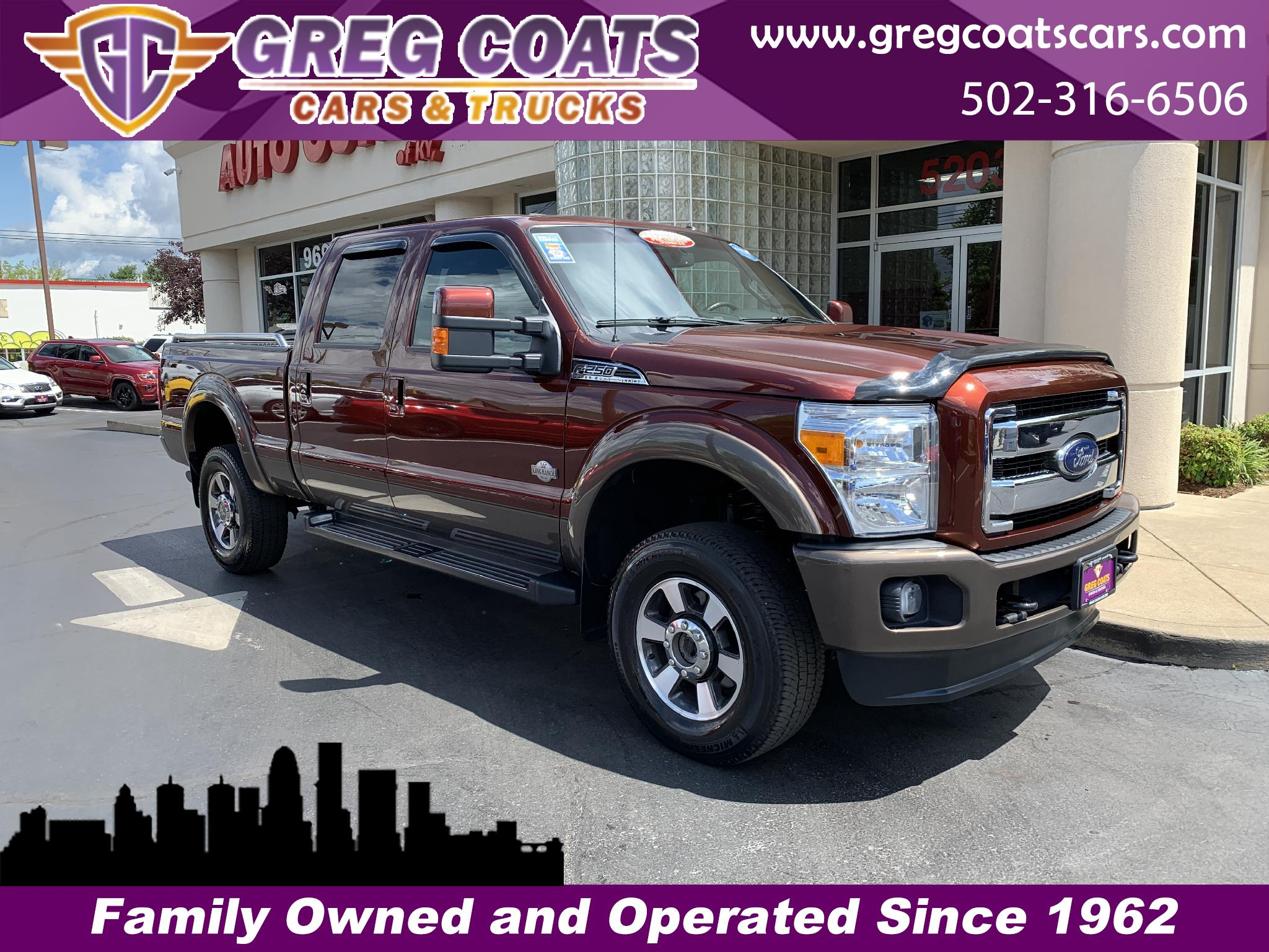 2016 Ford F-250 SD King Ranch 4WD