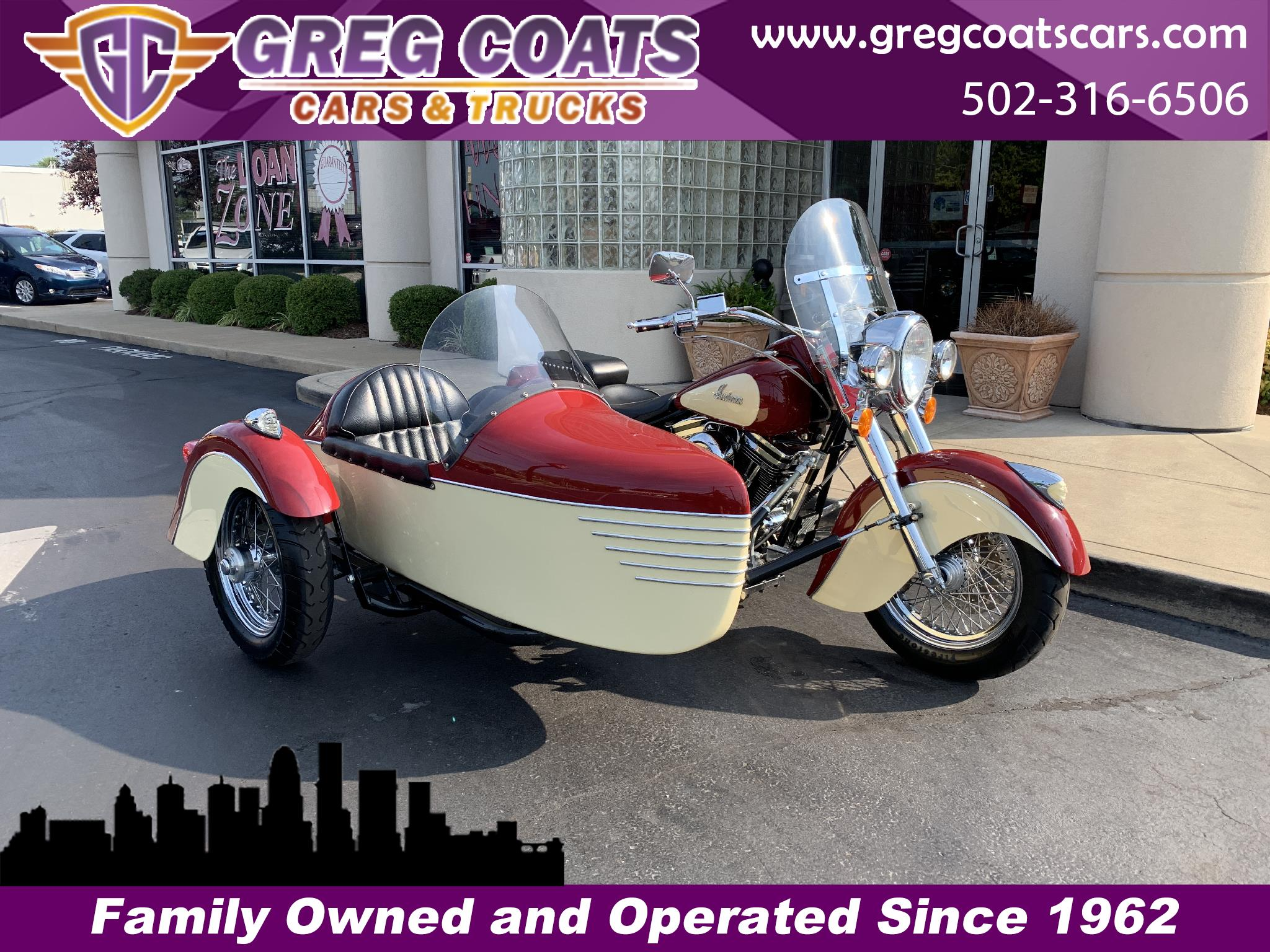 1999 Indian Chief LIMITED EDITION W/ SIDECAR