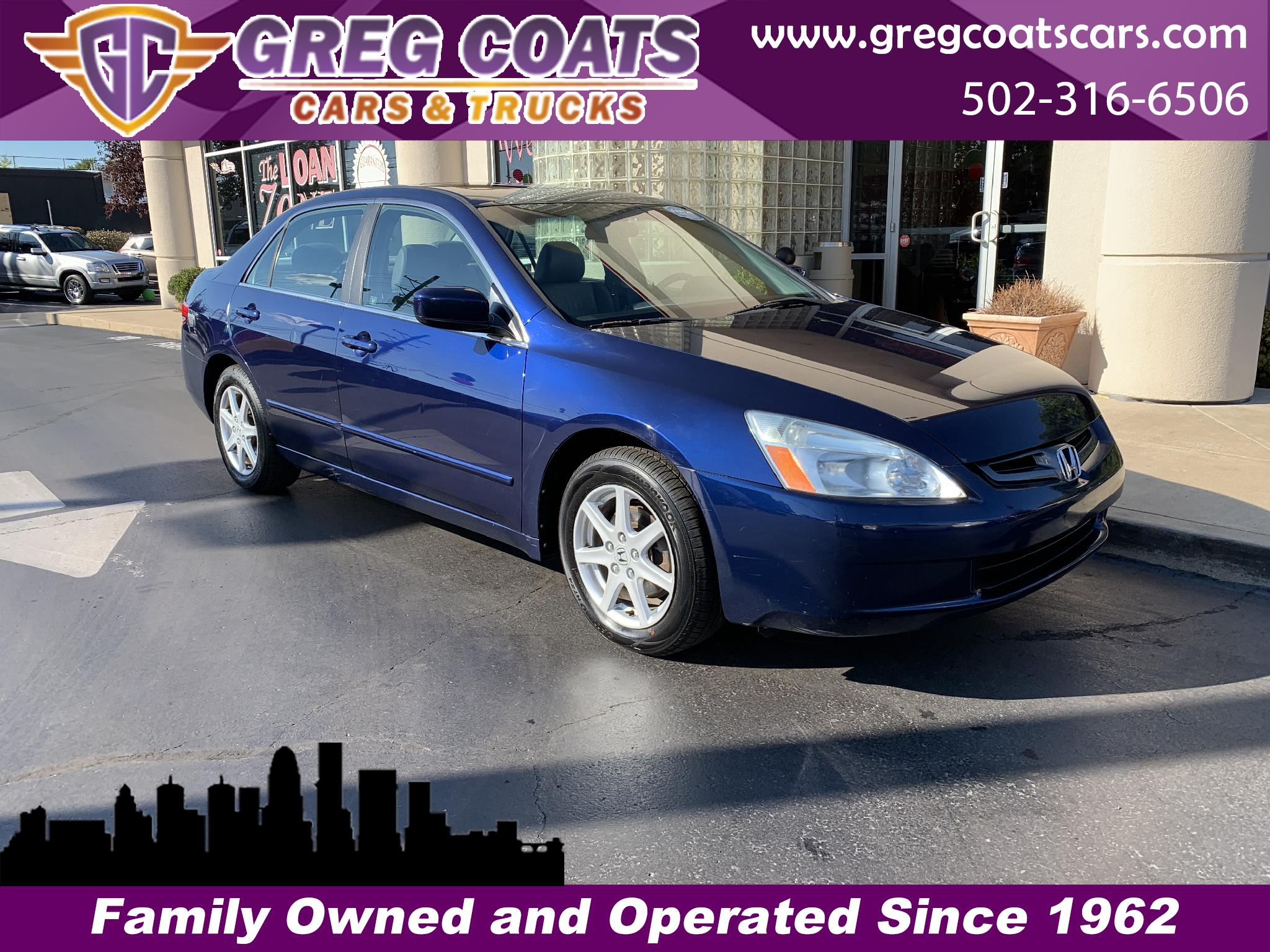 2003 Honda Accord EX V6 Sedan AT with Nav System