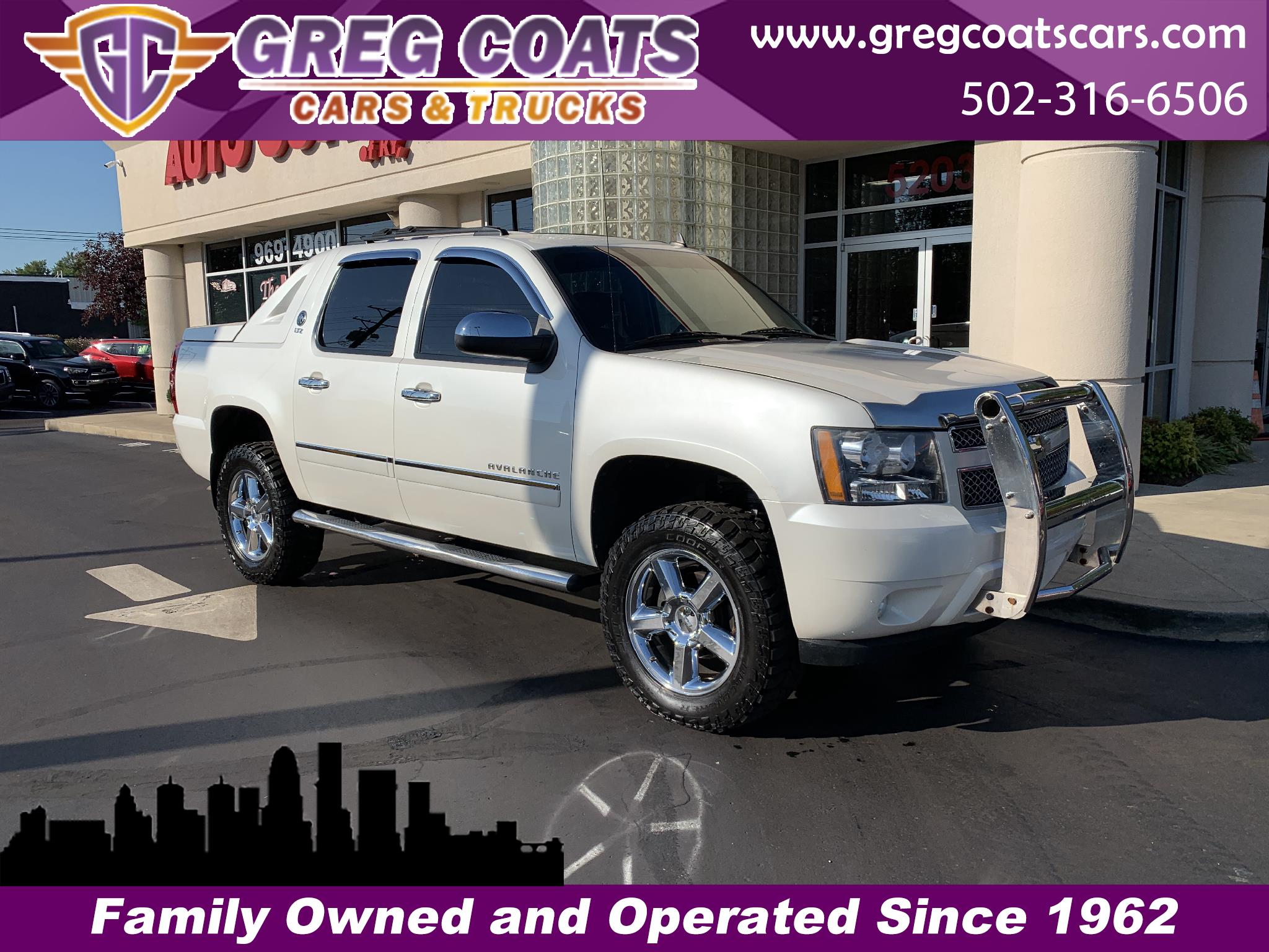 2011 Chevrolet Avalanche LTZ BLACK DIAMOND 4X4
