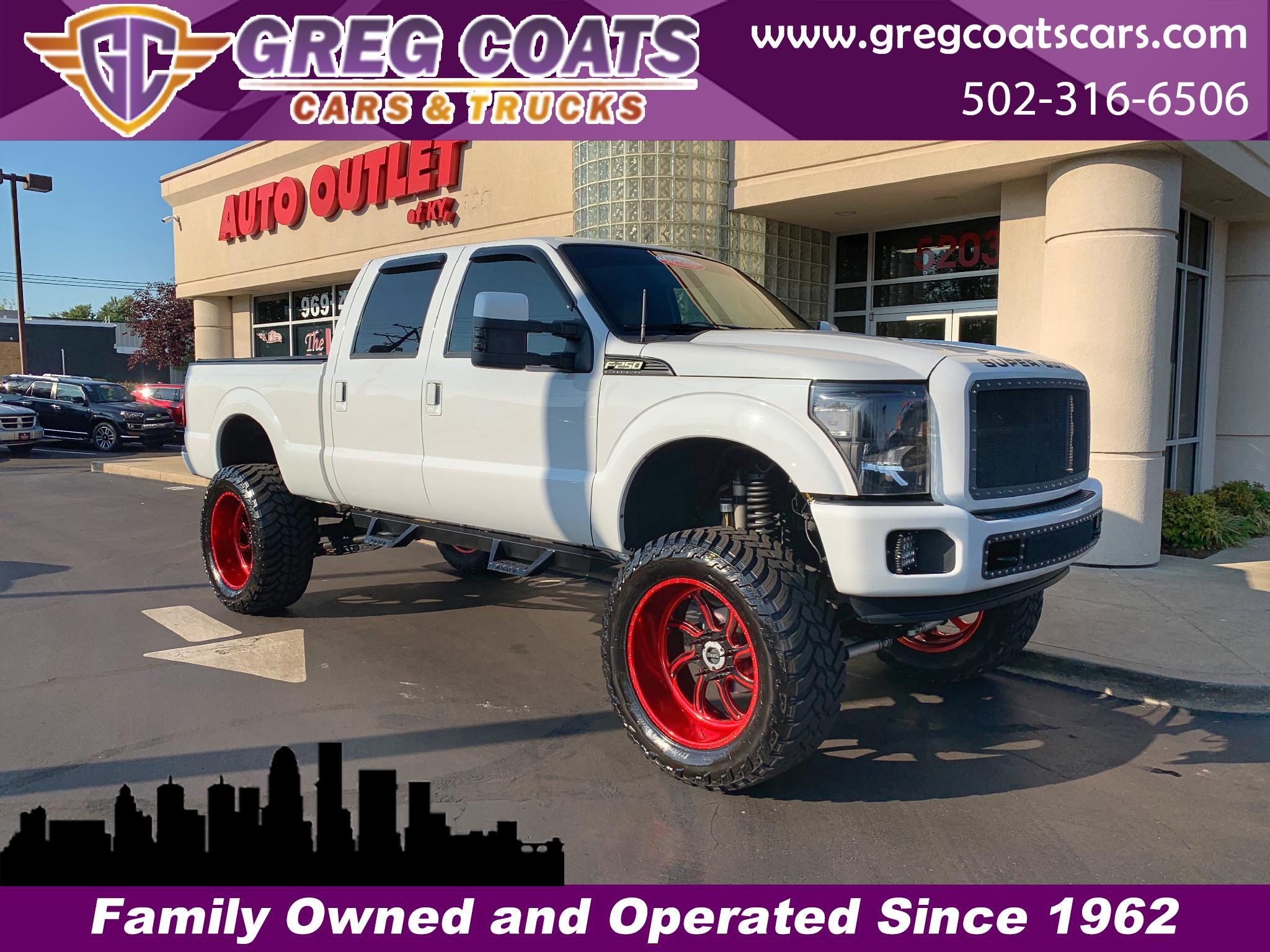 2012 Ford F-250 SD Lariat 4WD