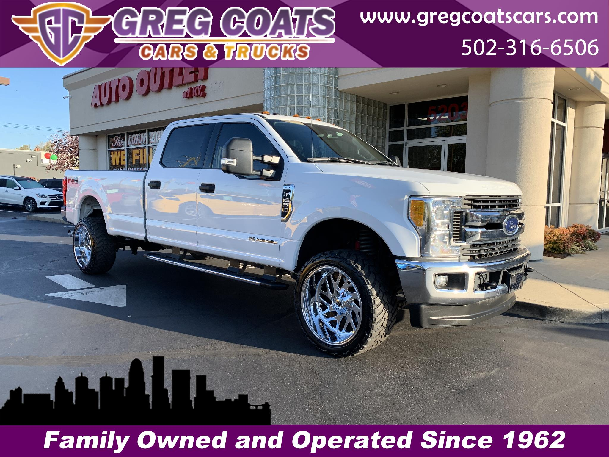 2017 Ford F-250 SD XLT 4WD