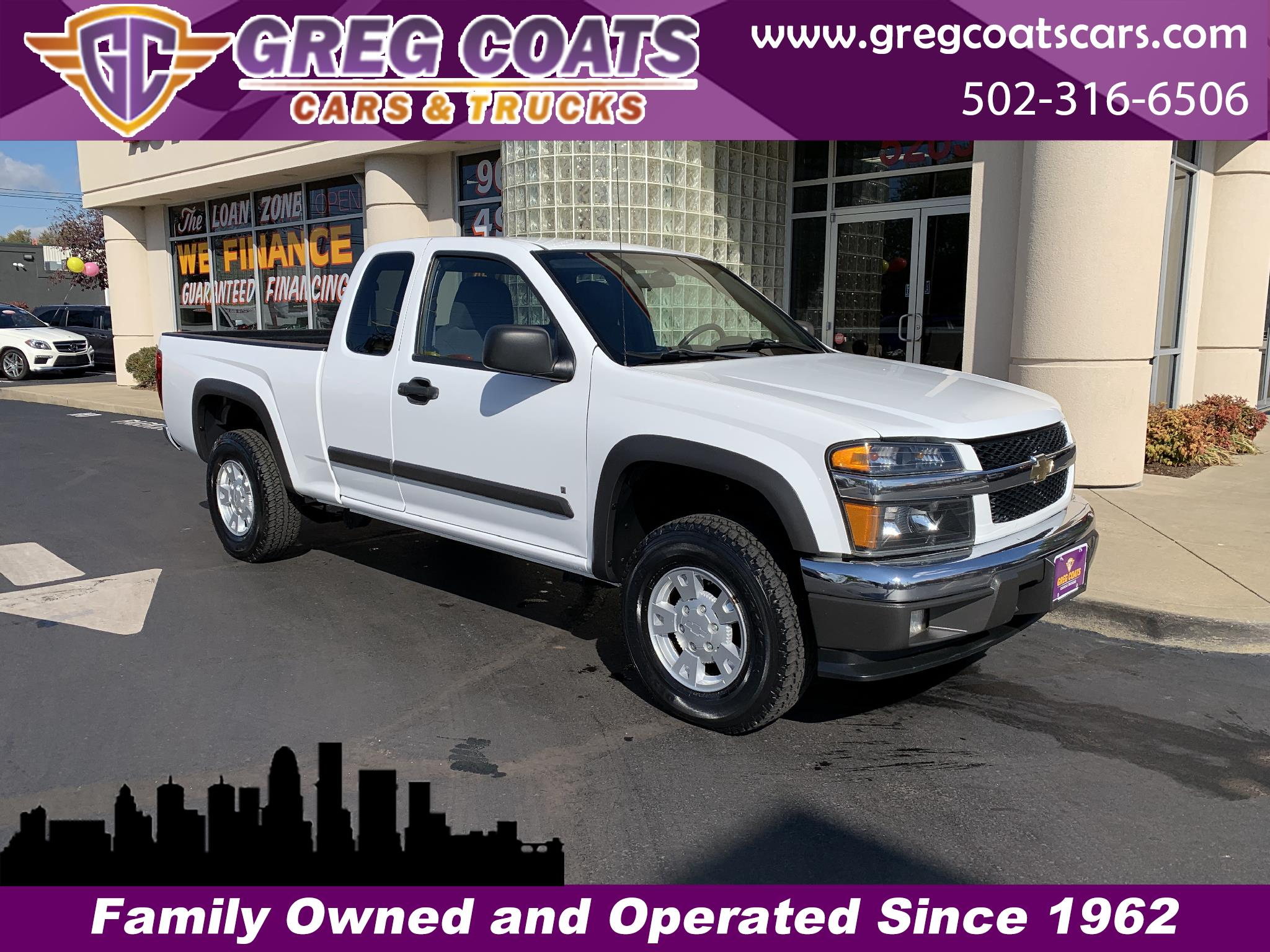 2008 Chevrolet Colorado LT1 Ext. Cab 4WD