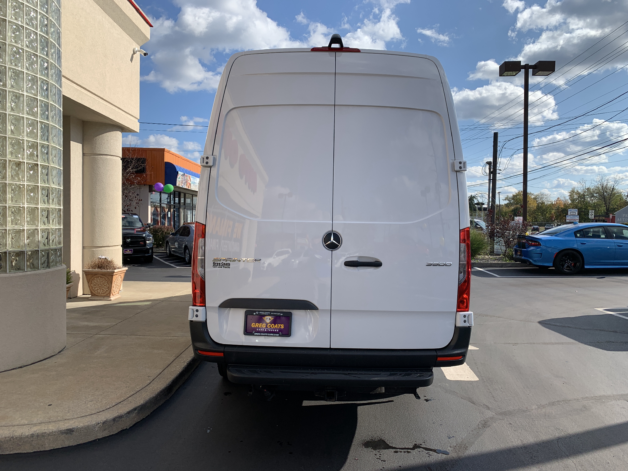 2019 Mercedes-Benz Sprinter 3500 High Roof 170-in. WB EXT