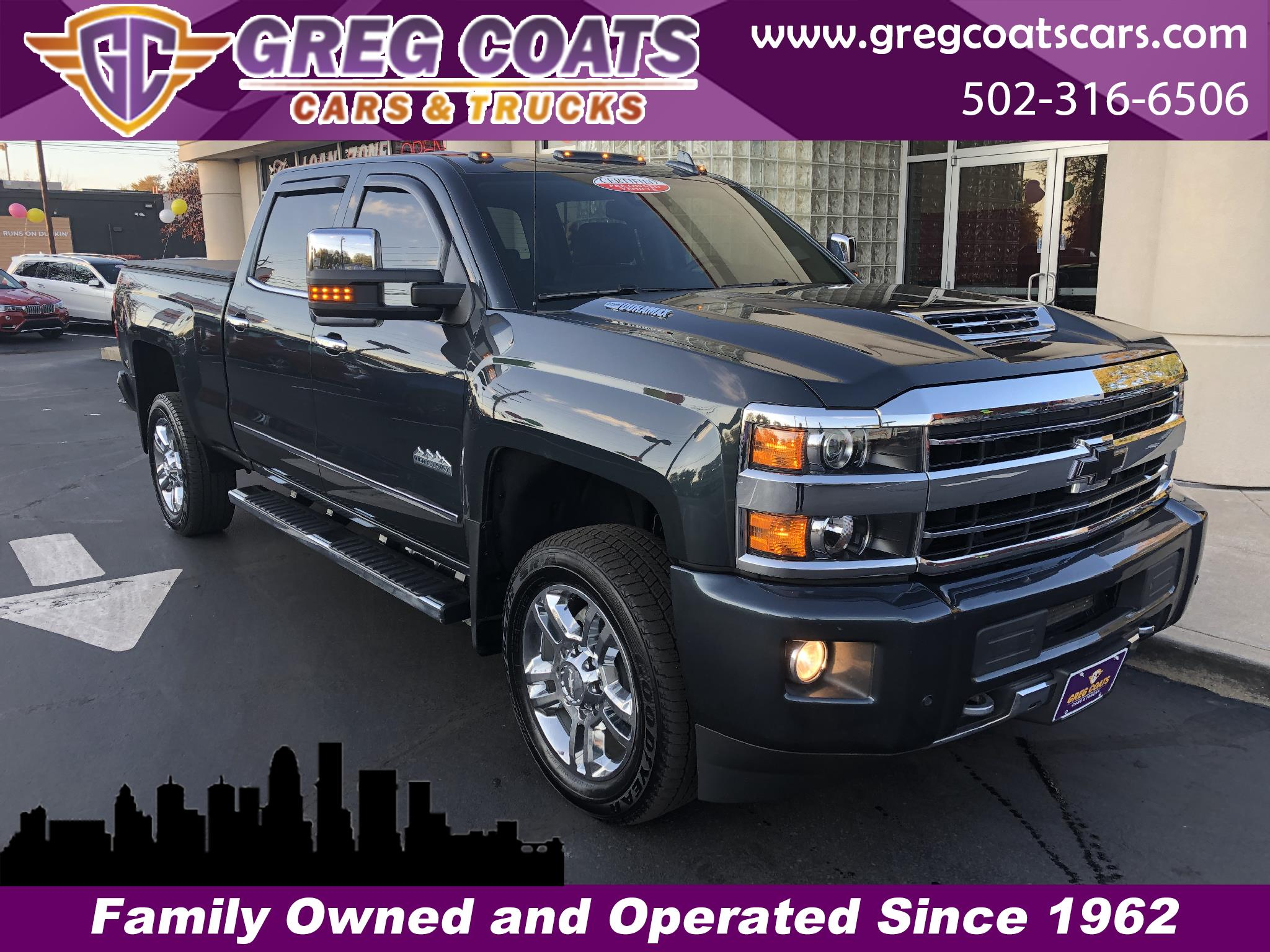 "2019 Chevrolet Silverado 2500HD 4WD Crew Cab 159"" High Country"