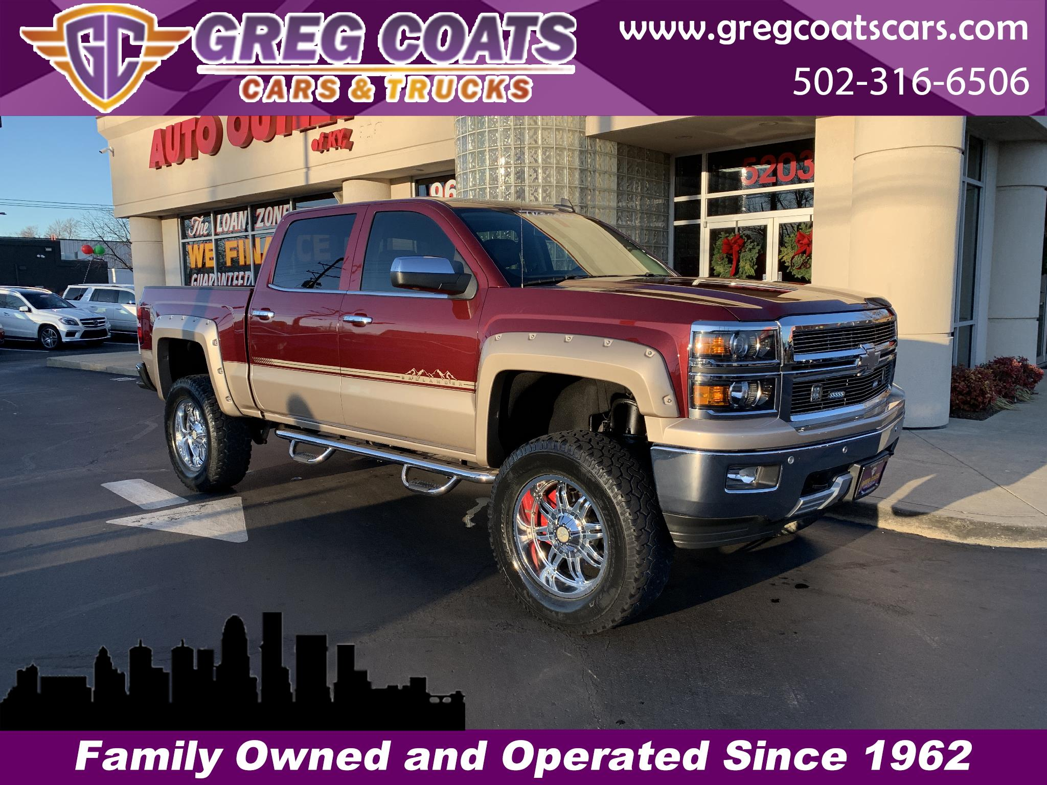 2015 Chevrolet Silverado 1500 Tuscony Badlander Conversion