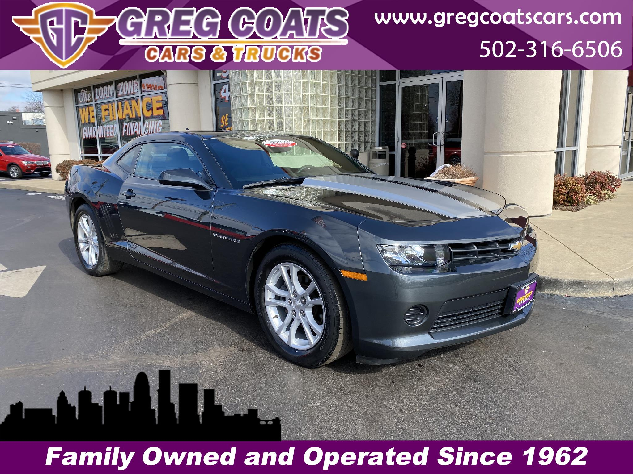 Chevrolet Camaro 2LS Coupe 2014