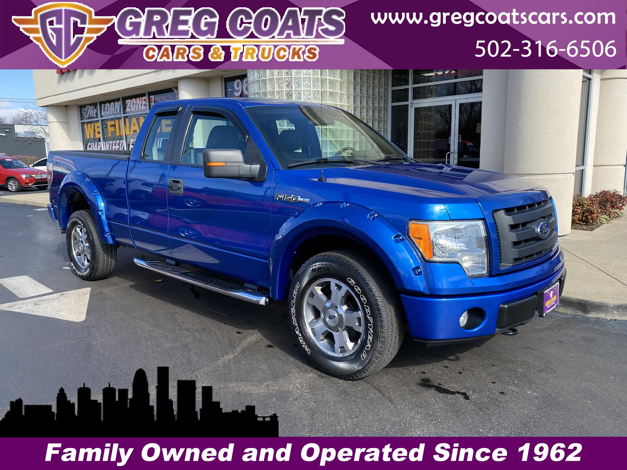 Ford F-150 STX SuperCab 5.5-ft. Bed 4WD 2009
