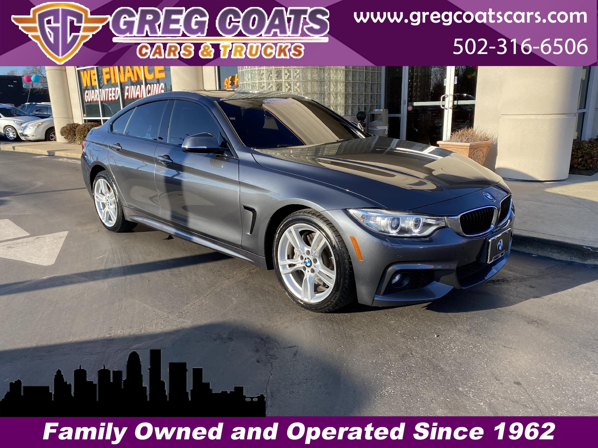 BMW 4-Series Gran Coupe 435i xDrive 2016