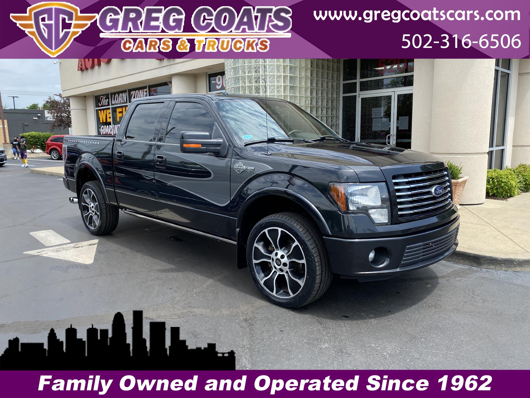 Ford F-150 Harley-Davidson SuperCrew 5.5-ft. Bed 4WD 2012