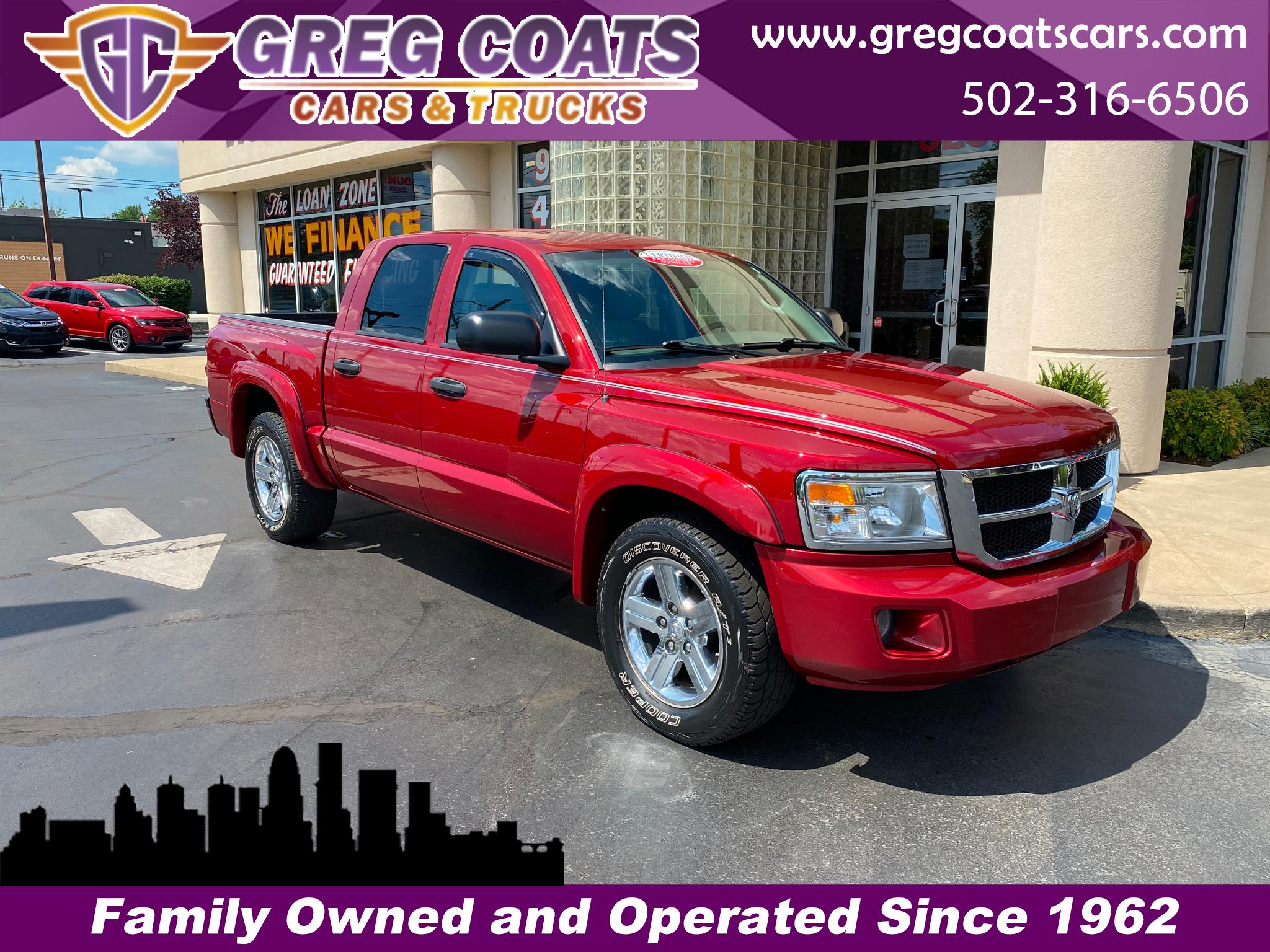 Dodge Dakota SLT Crew Cab  4WD 2008