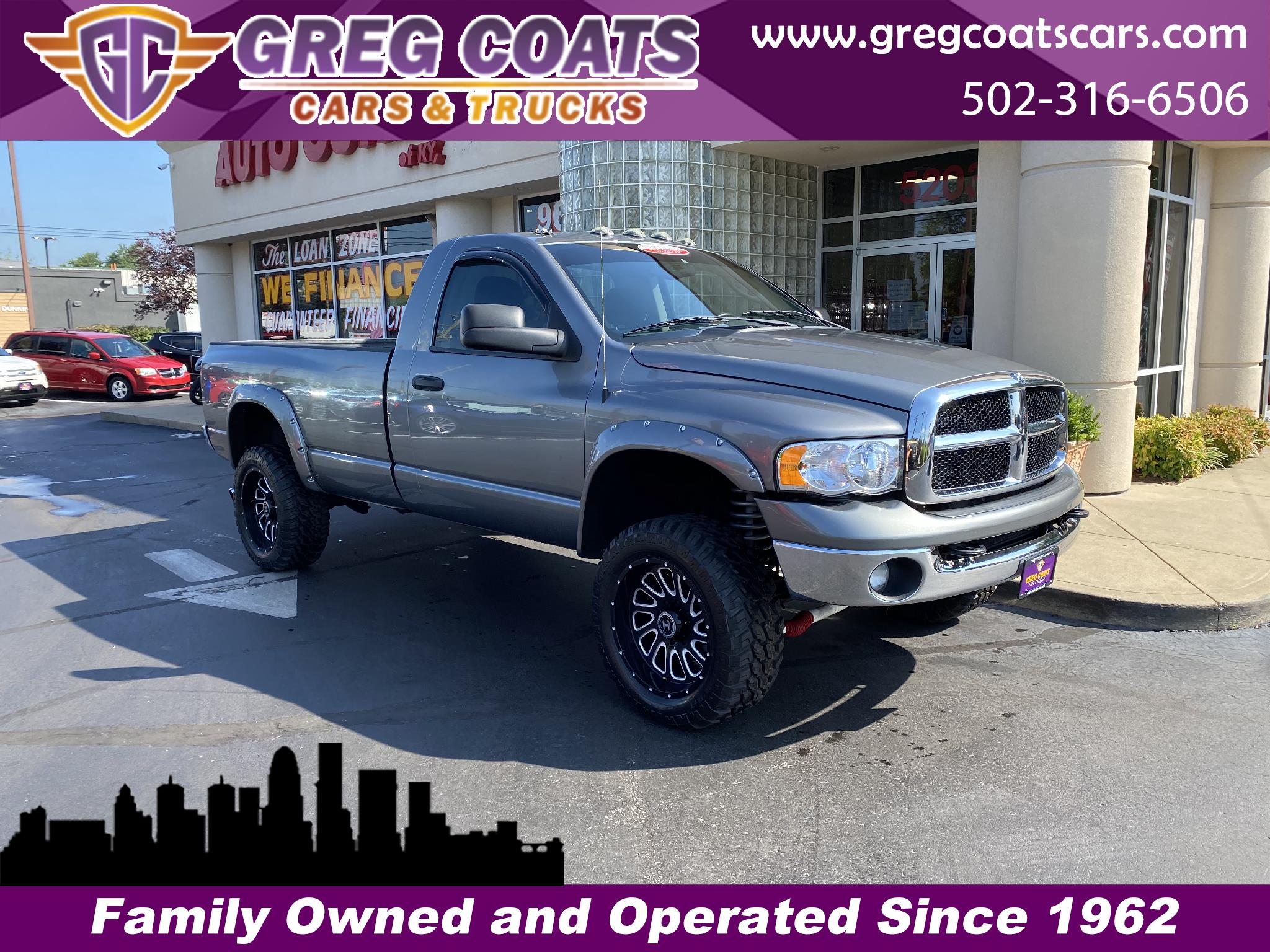Dodge Ram 2500 SLT Long Bed 4WD 2005