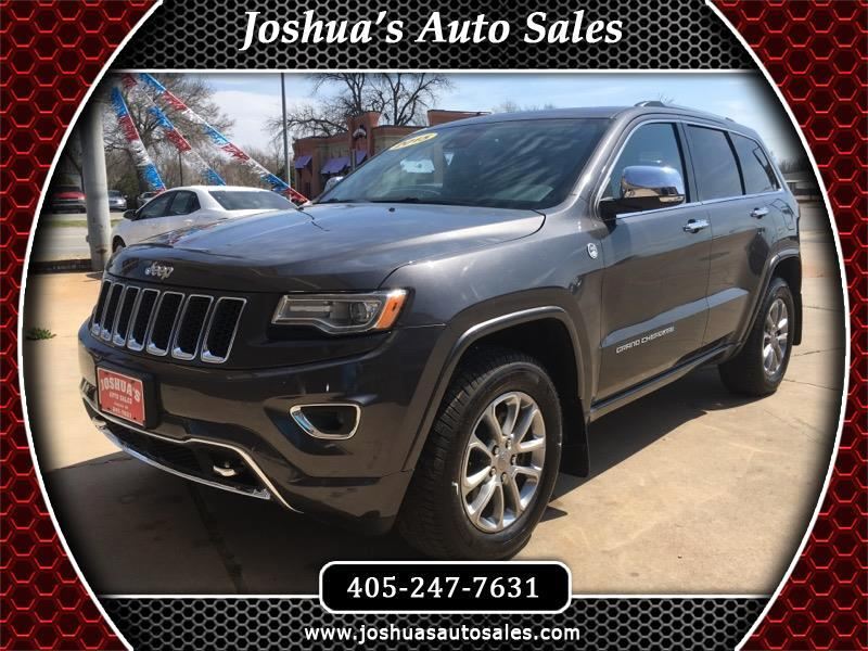 2015 Jeep Grand Cherokee Overland 4WD