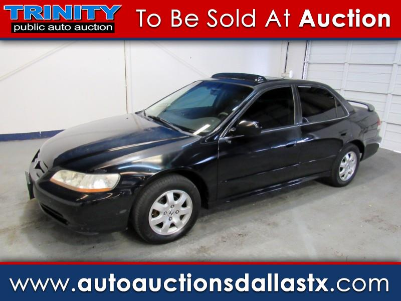 2001 Honda Accord EX Sedan with Leather