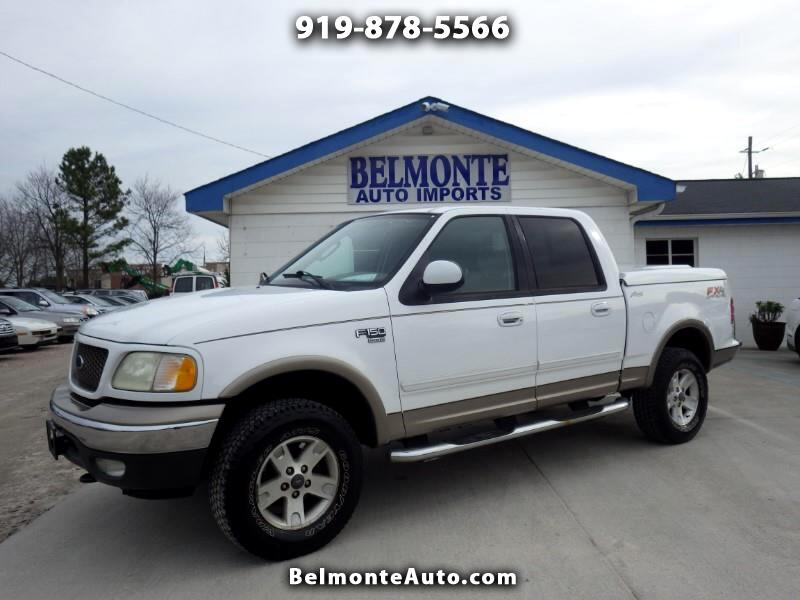 2003 Ford F-150 Lariat SuperCab 5.5-ft. Bed 4WD