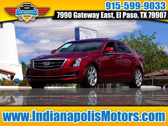 2016 Cadillac ATS 2.0L Luxury RWD