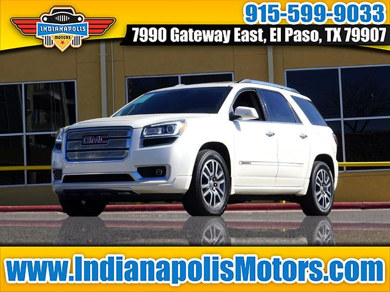 buy here pay here 2013 gmc acadia denali fwd for sale in el paso tx 79907 indianapolis motors. Black Bedroom Furniture Sets. Home Design Ideas