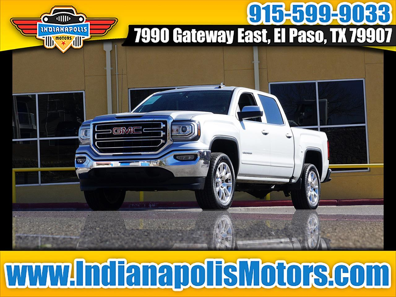 GMC Sierra 1500 SLE Crew Cab Long Box 2WD 2016
