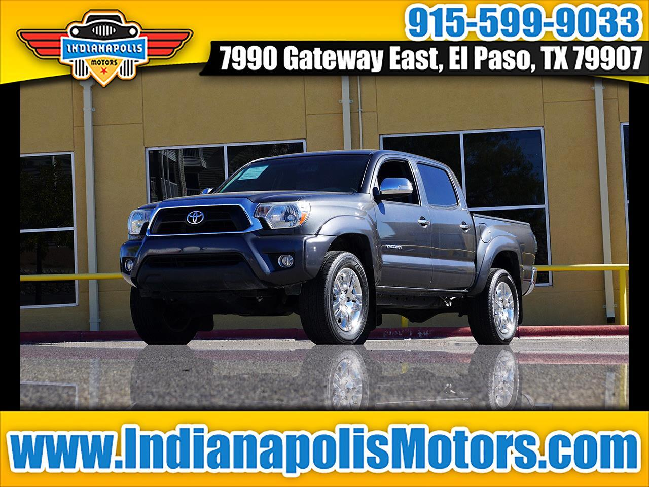 Toyota Tacoma PreRunner Double Cab V6 5AT 2WD 2014