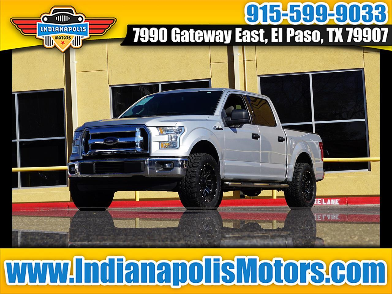 "Ford F-150 2WD SuperCab 145"" FX2 Sport 2016"