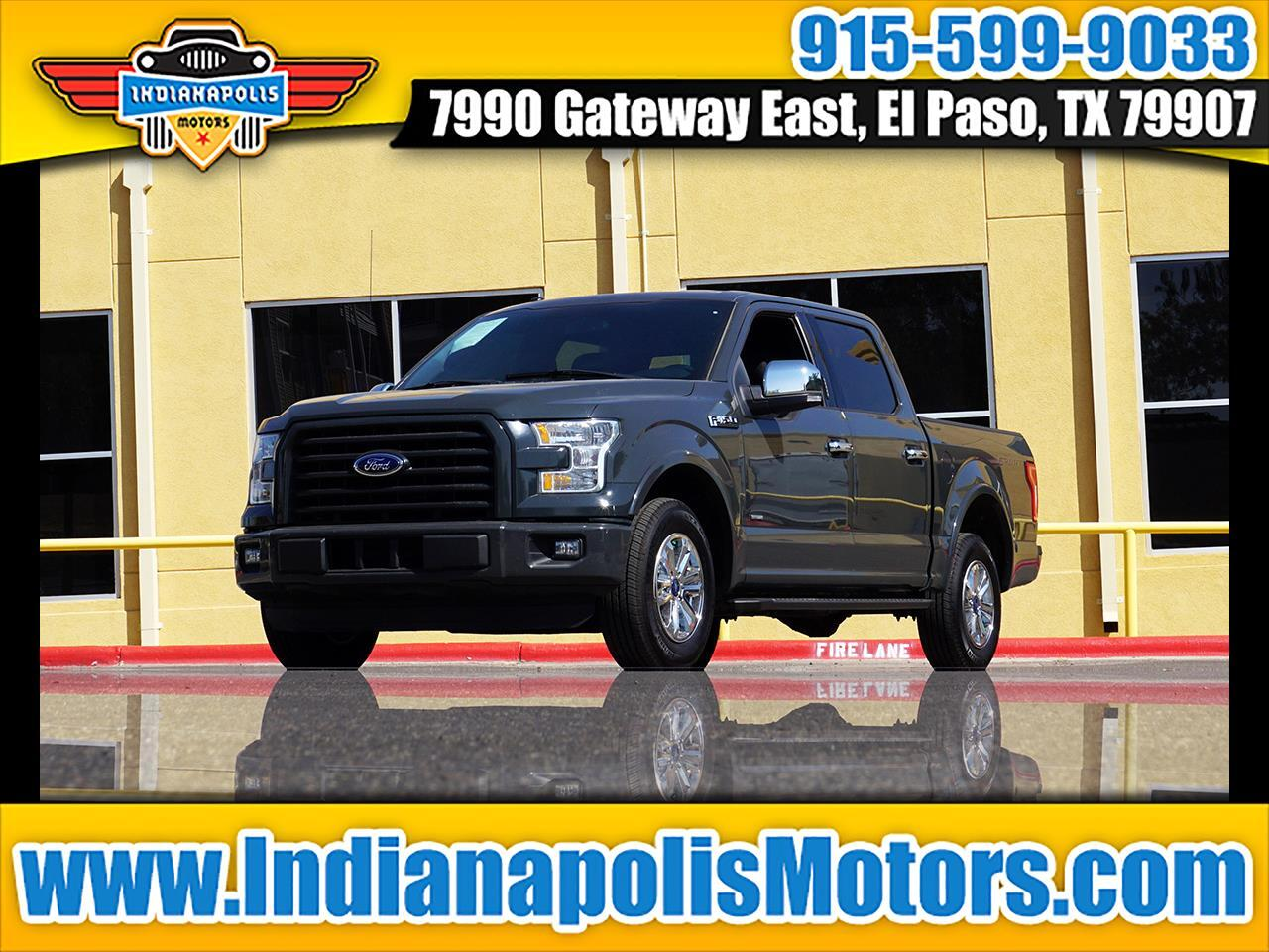 "Ford F-150 2WD SuperCrew 145"" FX2 Sport 2016"