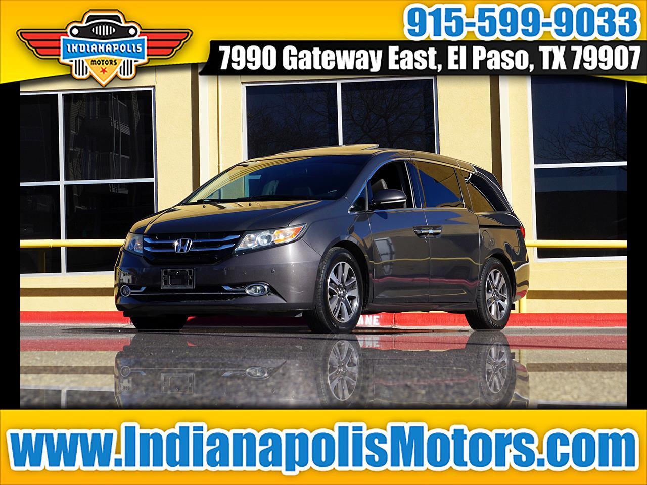 Honda Odyssey 5dr EX-L w/Navigation/Leather 2014