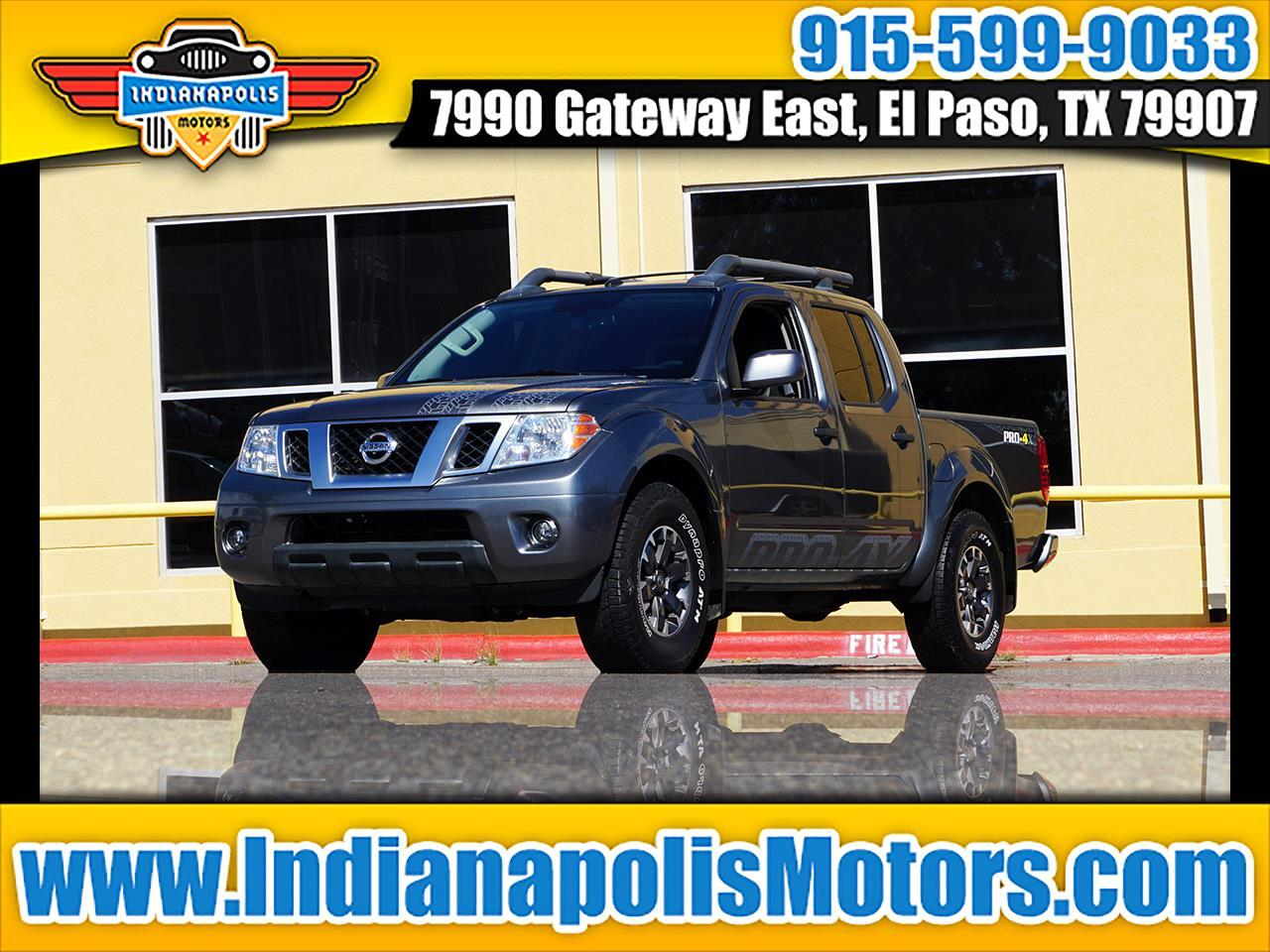 Nissan Frontier 4WD King Cab Auto PRO-4X 2019