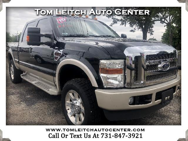 2010 Ford F-250 SD KING RANCH CREW 4WD